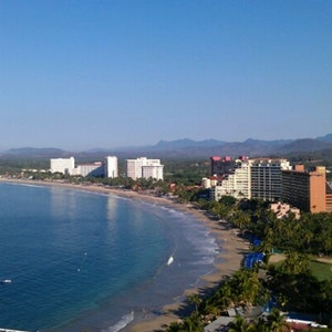 Ixtapa beach
