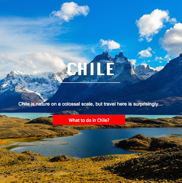 The best of Chile...