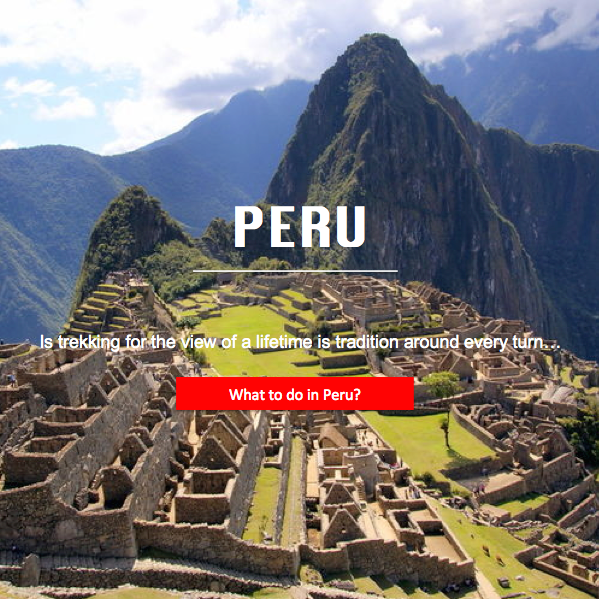 The best of Peru...